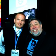 I touched Steve Wozniak today.